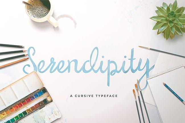 serendipity-free-font