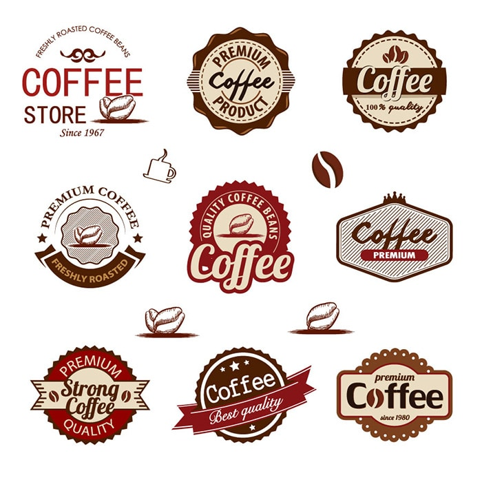 Coffee Badges