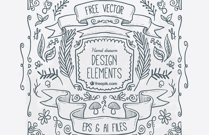 Hand Drawn Illustration Elements