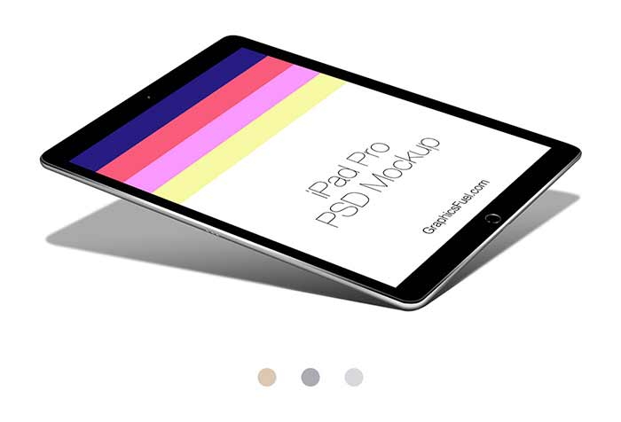 iPad Pro Mockup Psds To Showcase Your Work