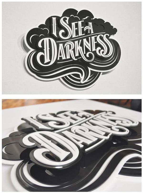darkness 3D type