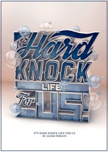 Hard knock life 3D typography