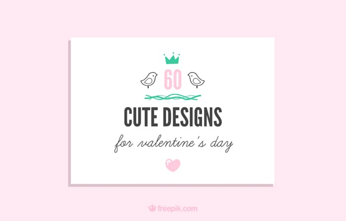 60 Free Cute Valentines Day Designs