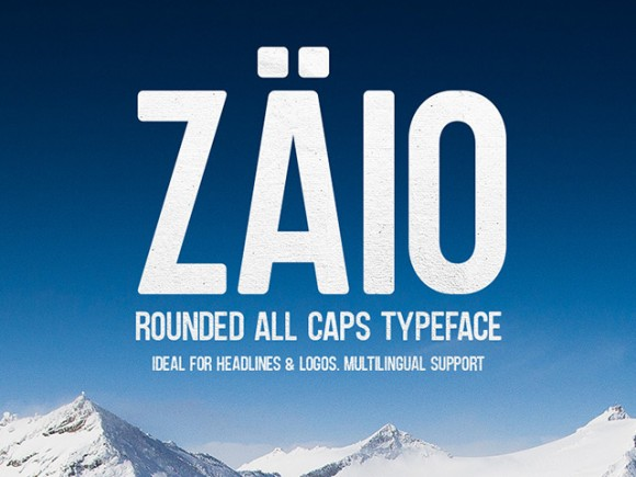 Zaio Free Font Collection
