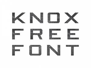 Knox Font