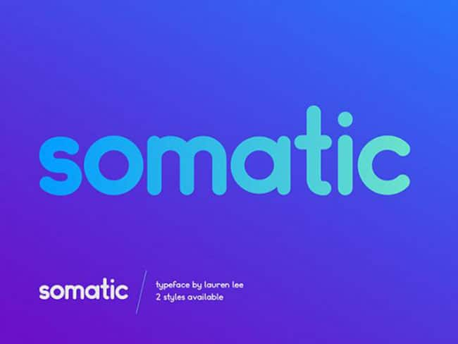 Somatic - Best Free Fonts 2017 Edition