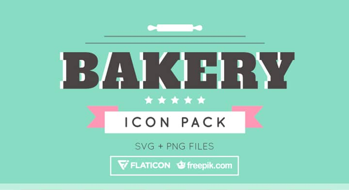 Free Bakery Icon Collection (Svg & PNG Formats)