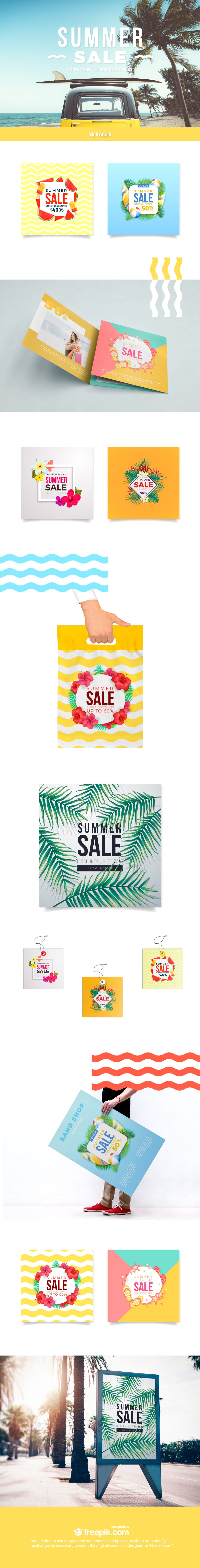 summer sale graphics